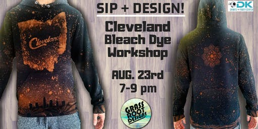 Bleach Dye Clothing Workshop at Dk Play!