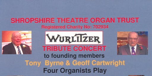 Tribute Organ Concert - 4 Organists play Wurlitzer Theatre Organ at The Buttermarket