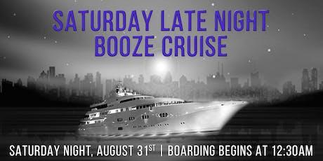 Saturday Late Night Booze Cruise aboard Spirit of Chicago tickets