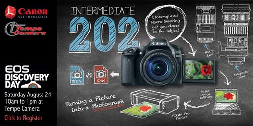 EOS Discovery Day - Intermediate 202: Creative Photography with your EOS Camera