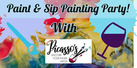 Paint & Sip Painting Party at FCW&S tickets