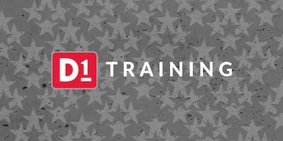 D1 Operator Training - December