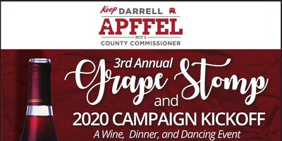 3rd Annual Grape Stomp and 2020 Campaign Kickoff