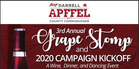 3rd Annual Grape Stomp and 2020 Campaign Kickoff tickets