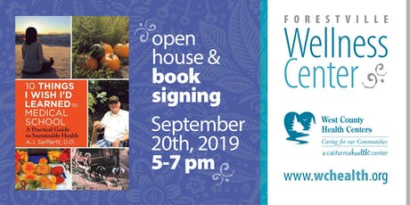 Book Signing & Open House Celebration tickets
