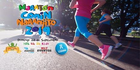 Maraton CONIN Naranjito 2019 entradas