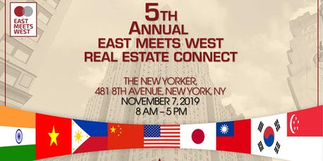 "AREAA Manhattan's Fifth Annual ""East Meets West, Real Estate Connect"" tickets"