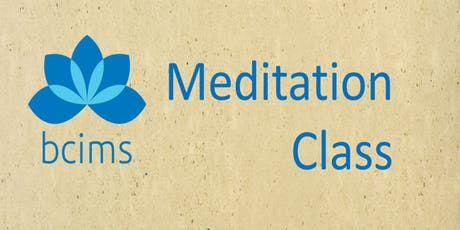 Class:  Introduction to Mindfulness Meditation with Santa Aloi 2019oct31stp tickets