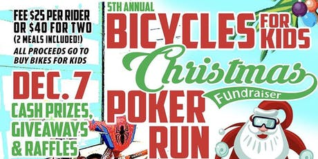 Bicycles for Kids Poker Run at Main Street Station tickets