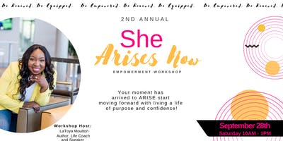 She Arises Now Workshop