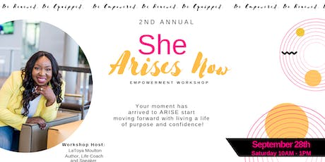 She Arises Now Workshop tickets