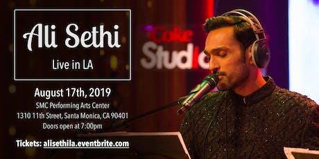 Ali Sethi - Live in LA tickets
