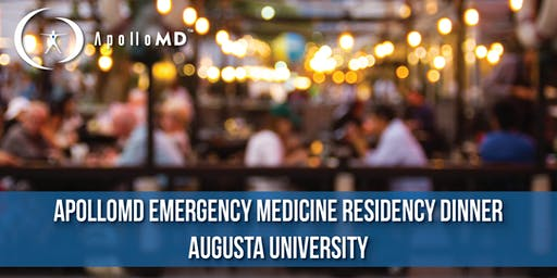 ApolloMD Emergency Medicine Residency Dinner | Augusta University