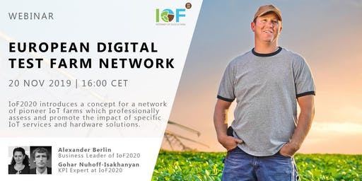 Webinar on European digital test farm network