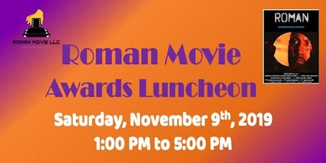 Roman Movie Awards Luncheon tickets