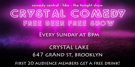 Crystal Comedy | Free Comedy and a Free Drink tickets