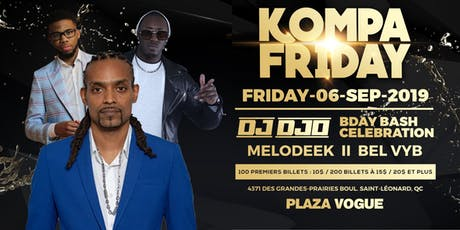 KOMPA FRIDAY LIVE BAND MELODEEK * DJO * BEL VYB tickets