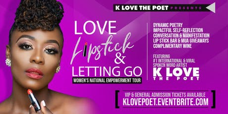 Love, Lipstick & Letting Go | 8.30 Philly, PA tickets