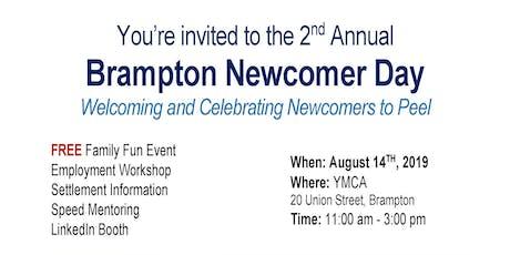 BRAMPTON NEWCOMER DAY tickets