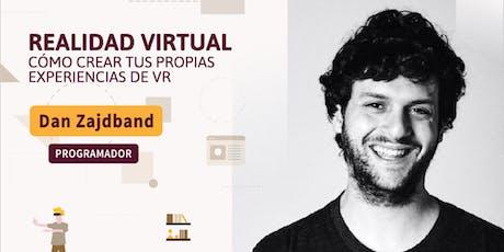 #YoProgramo WORKSHOP SOBRE REALIDAD VIRTUAL, CREÁ TUS EXPERIENCIAS VR entradas