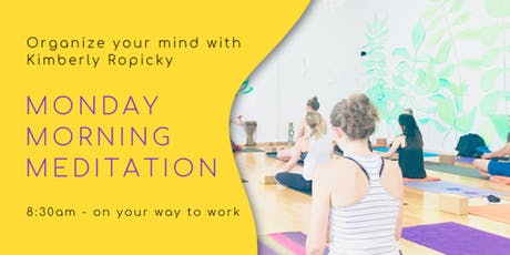 Monday Morning Meditation in North Beach tickets