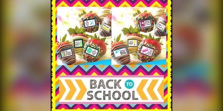 Back 2 School Chocolate Strawberry Workshop  tickets