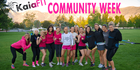Kaia Fit Free Community Week tickets