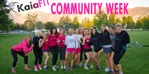 Kaia Fit Free Community Week