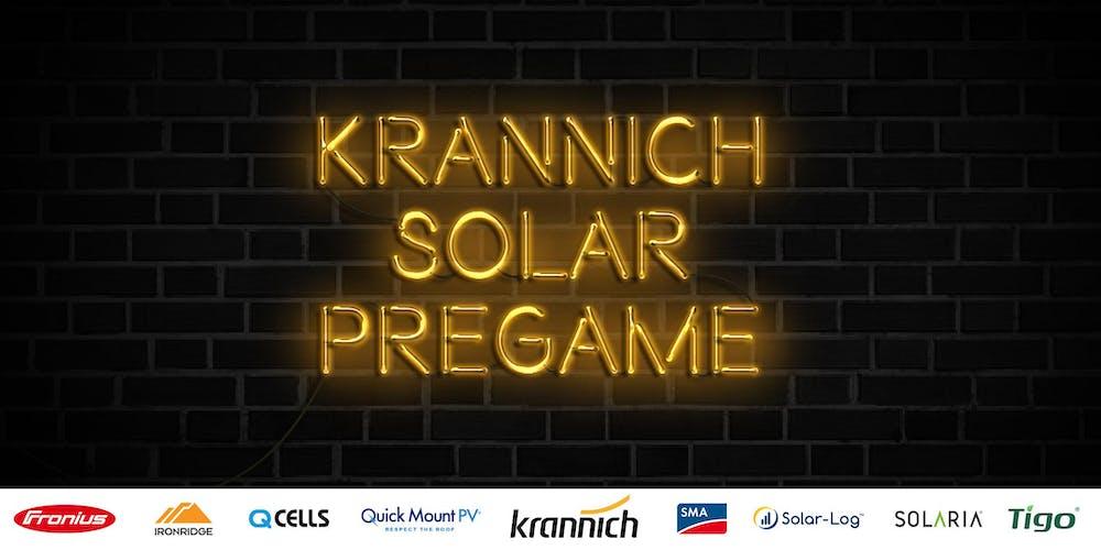 Krannich Pregame Party 2019 Tickets, Mon, Sep 23, 2019 at 7:30 PM