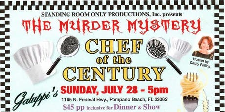 Chef of the Century Murder Mystery Dinner Show tickets