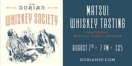 The Dorian's Whiskey Society - 1st Wednesday of Every Month tickets