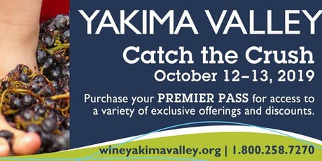 Catch the Crush in the Yakima Valley tickets