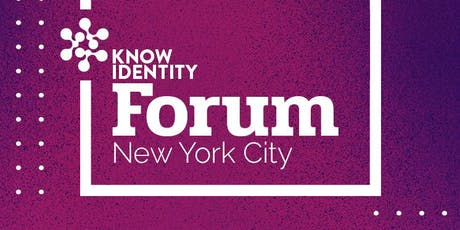 KNOW Identity Forum NYC: Biometrics for Access Control and Ticketing tickets
