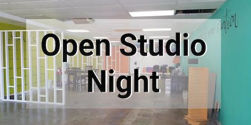 The Art Plug-In Open Studio Night