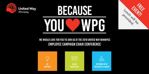 Employee Campaign Chair Fall Conference 2019
