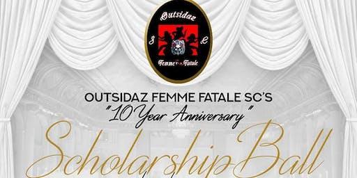 Outsidaz Femme Fatale SC's 10th Anniversary Scholarship Ball