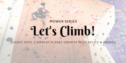 Let's Climb! with Kelsey