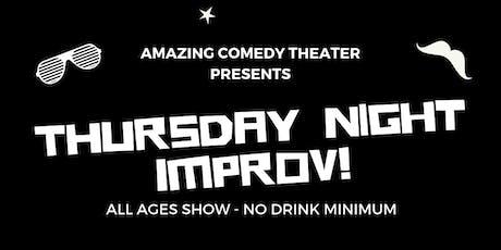 OC's Best Thursday Night Improv Show - Live Improv Comedy tickets