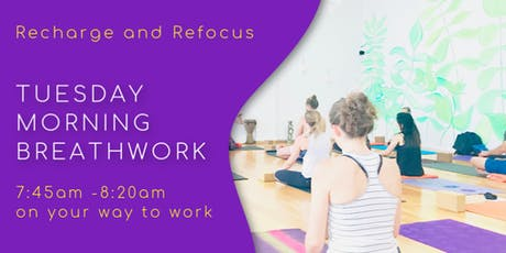 Glow BreathWork Meditation: Recharge and Refocus tickets