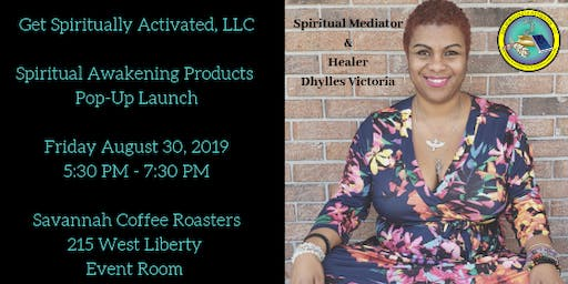 Savannah Spiritual Awakening Products Pop-Up Launch