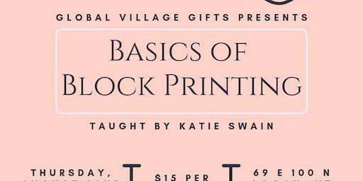Basics of Block Printing