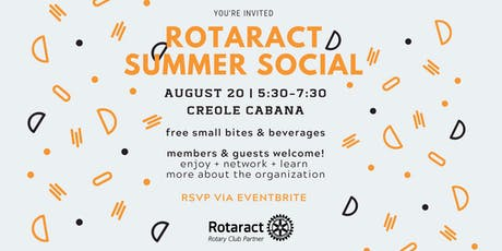 Rotaract of Baton Rouge Summer Social tickets