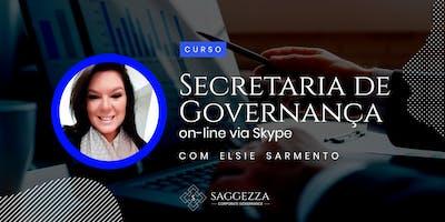 SECRETARIA DE GOVERNANÇA - O Desenvolvimento do Profissional de Governança - Via Skype