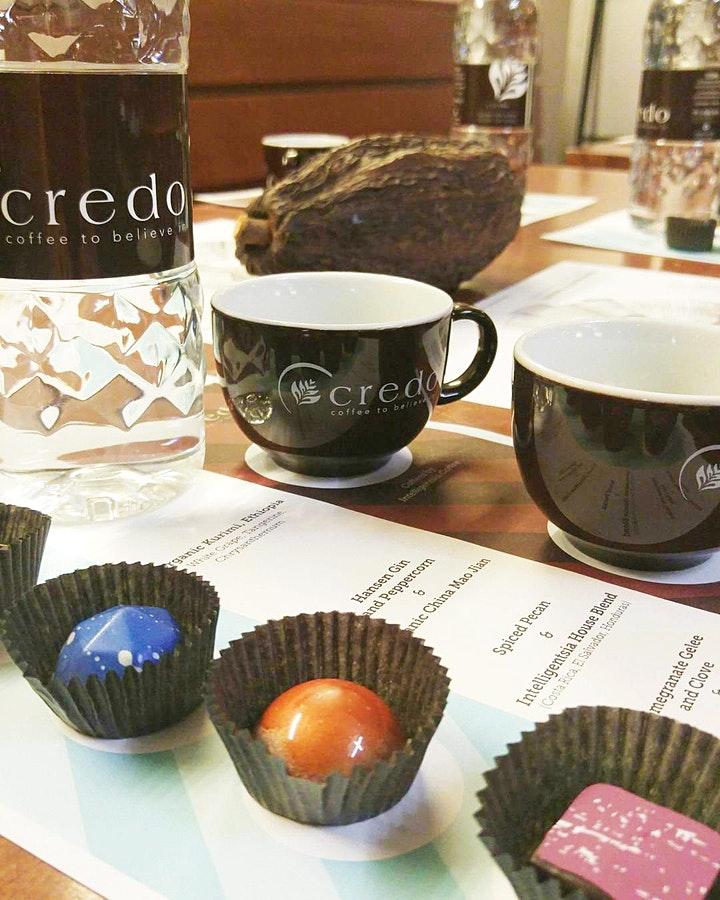 Coffee, Tea & Chocolate Pairing October  4, 2019 image
