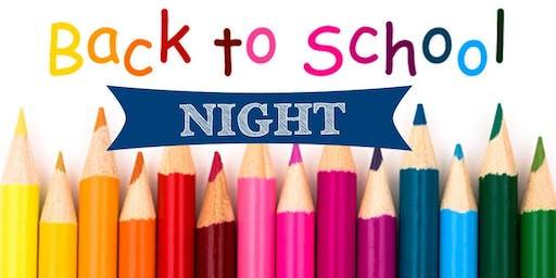 Cherry Valley Elementary School Back to School Night / Ice Cream Social