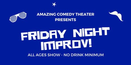 OC's Best Friday Night Improv Show - Live Improv Comedy tickets