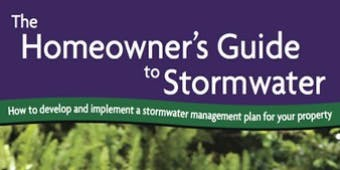Train-the-Trainer Homeowner's Guide to Stormwater Workshop