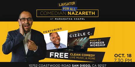 Laughter for All with Comedian Nazareth tickets