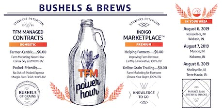 Bushels & Brews: A TFM Power Hour - Shelbyville tickets