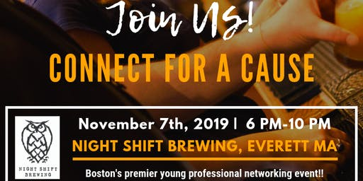 Connect for a Cause Networking Event